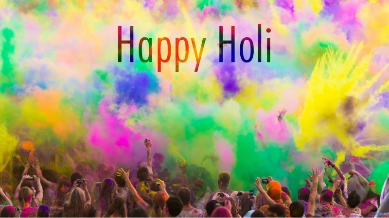 Cricket Fraternity wishes their fans a very colorful and joyous Holi