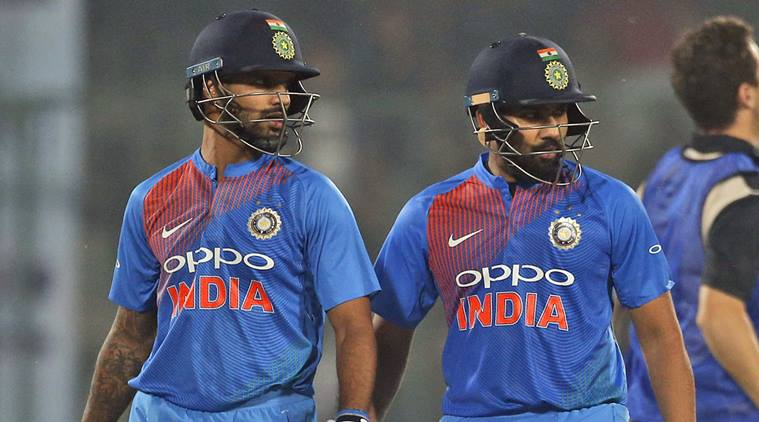 Rohit Sharma will captain India and with Dhawan forms one of the most dangerous opening pairs in T20I cricket | AP