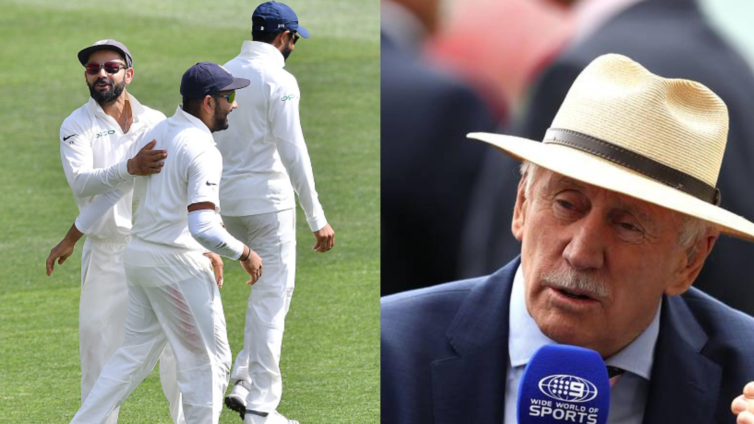 AUS v IND 2018-19: इयान चैपल के अनुसार विराट कोहली आधुनिक कप्तानों की तरह बल्लेबाजों को आसान सिंगल्स देते हैं