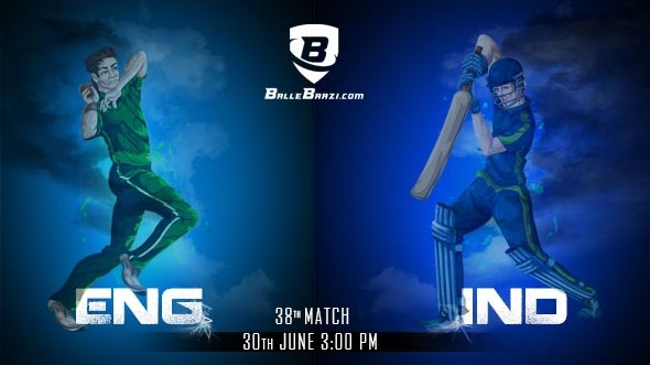 CWC 2019: Match 38, India vs England: Best BalleBaazi Combination, Tips, Lineups & Team News