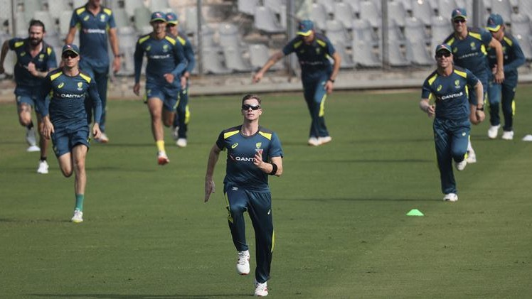 Steve Smith happy with his fitness as Australian players resume training