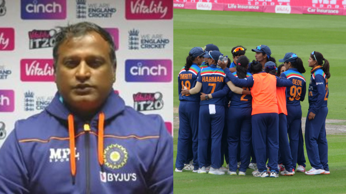 ENGW v INDW 2021: Our ideology needs to be changed; we should become fearless, says Ramesh Powar