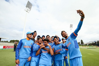 Rohit Sharma sends best wishes to India U-19 team for the final