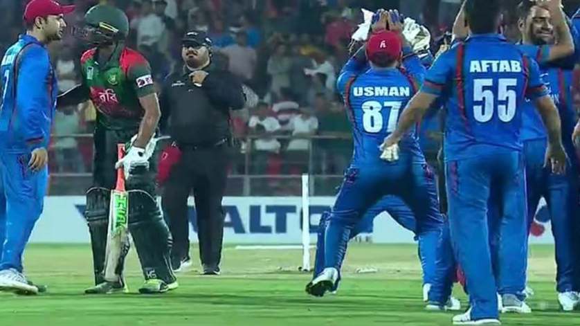 WATCH: Afghanistan players doing Nagin dance against Bangladesh left Twitterati enlivened