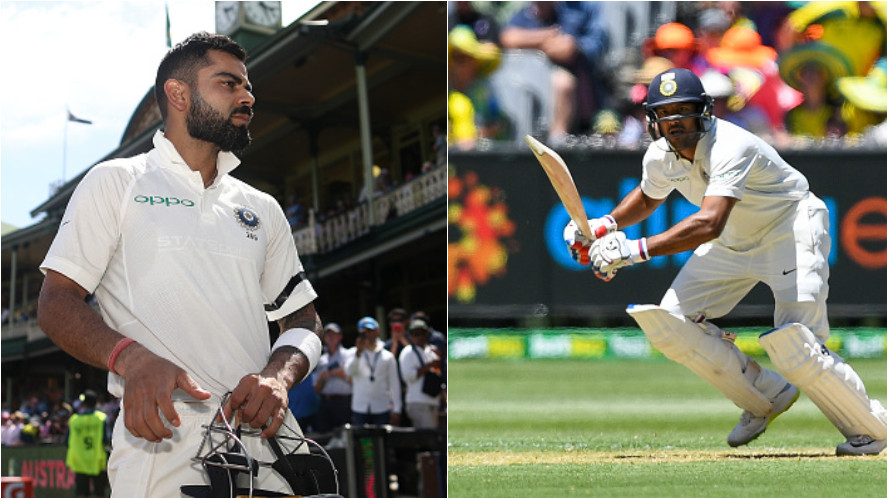 AUS v IND 2018-19: WATCH: Mayank Agarwal reveals what Virat Kohli told him while presenting the Test cap