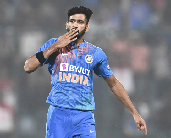 Khaleel last played for India in home T20Is against Bangladesh last November   AFP