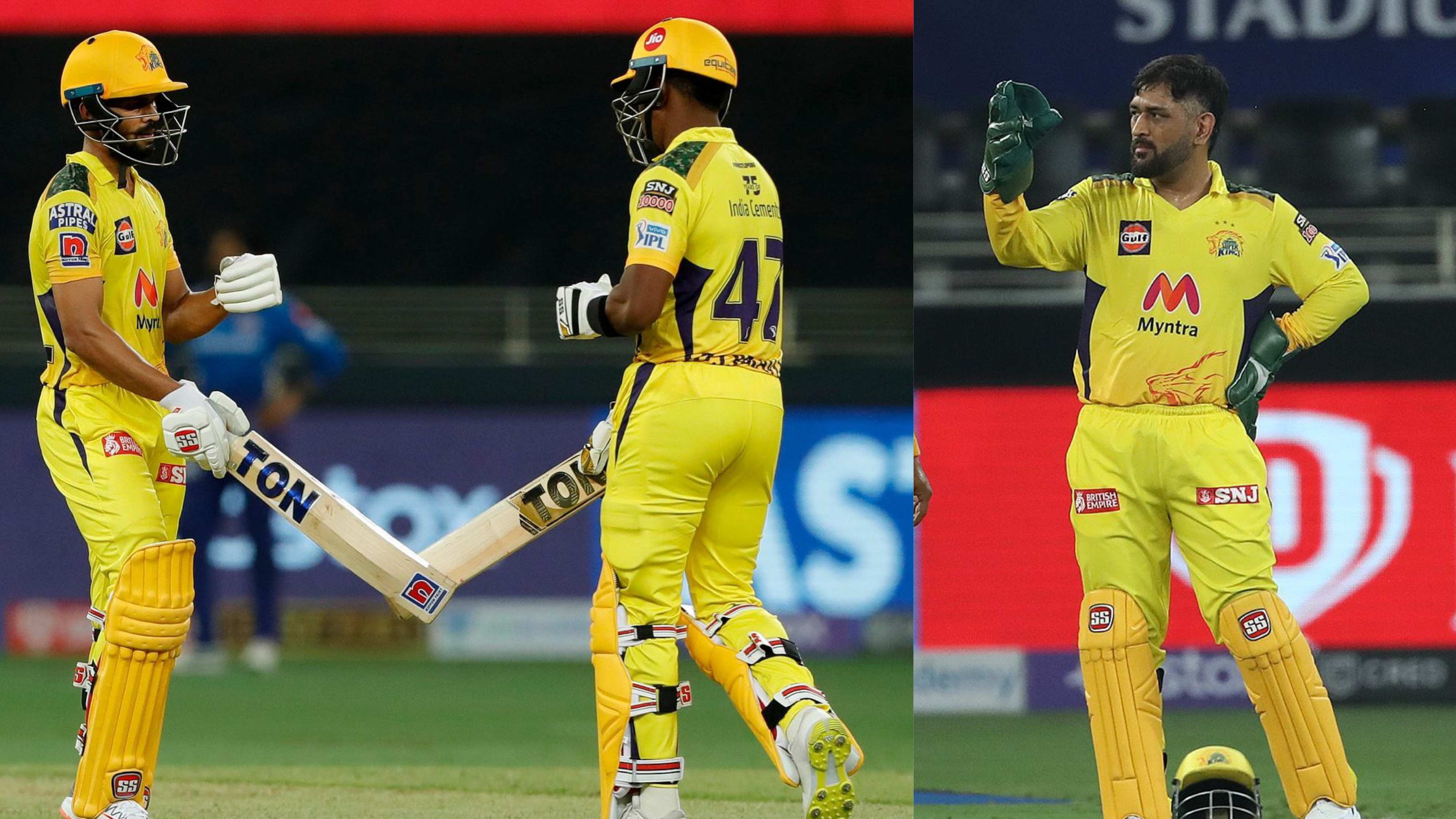 """IPL 2021: """"Ruturaj and Bravo got us more than what we expected"""" - MS Dhoni after CSK's win over MI"""