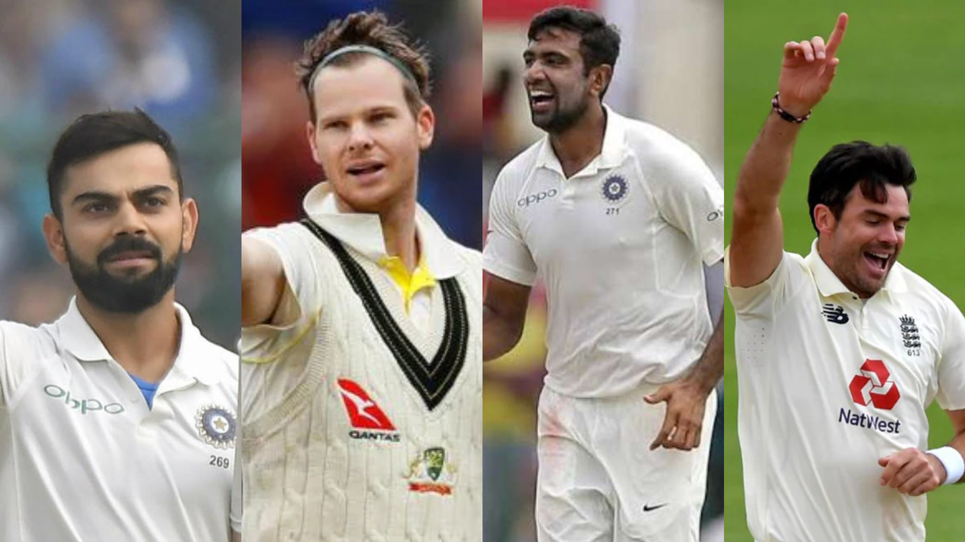 COC presents current World Test XI of right-handed players