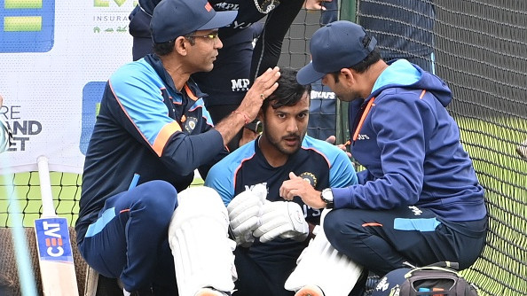 ENG v IND 2021: Mayank Agarwal ruled out of 1st Test after taking a blow on his helmet