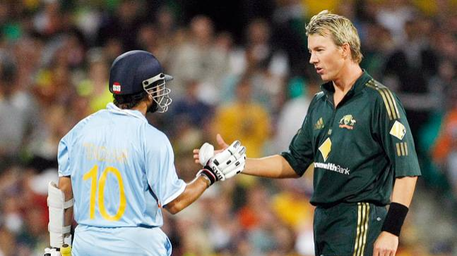 WATCH: Brett Lee takes Sachin Tendulkar's 'Kit Up Challenge' on Twitter