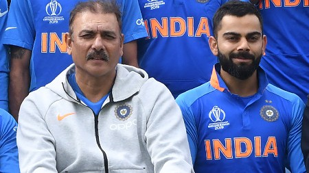 CWC 2019: Virat Kohli and Ravi Shastri to attend a review meeting with CoA on return to India
