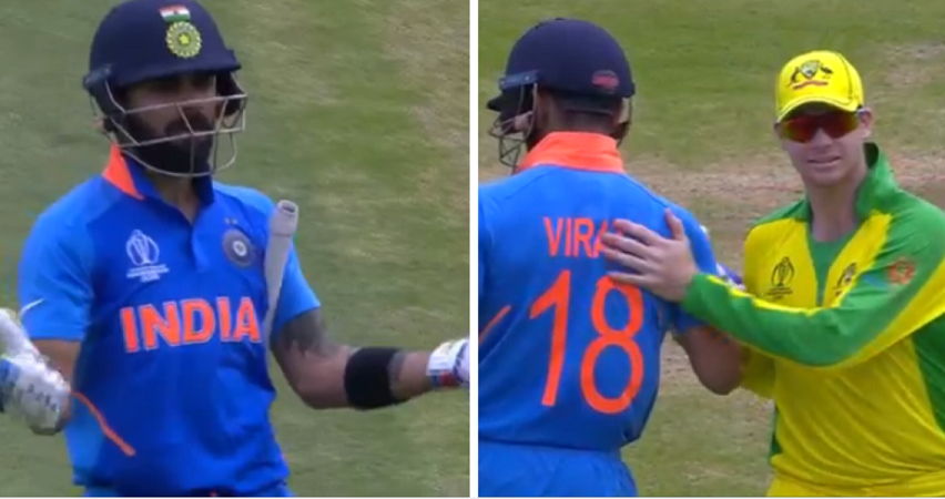 Virat Kohli was not happy with Indian contingent booing Smith | Screen Grab