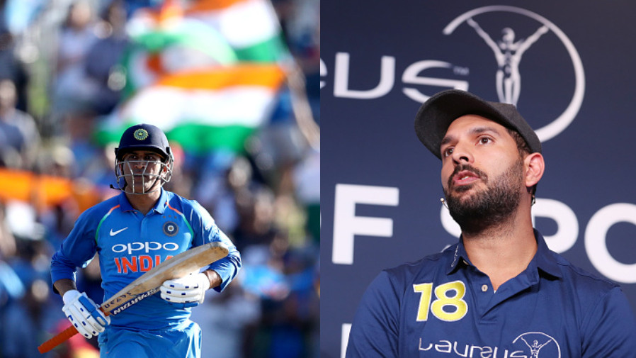 CWC 2019: Yuvraj Singh says India needs MS Dhoni's experience in the World Cup 2019