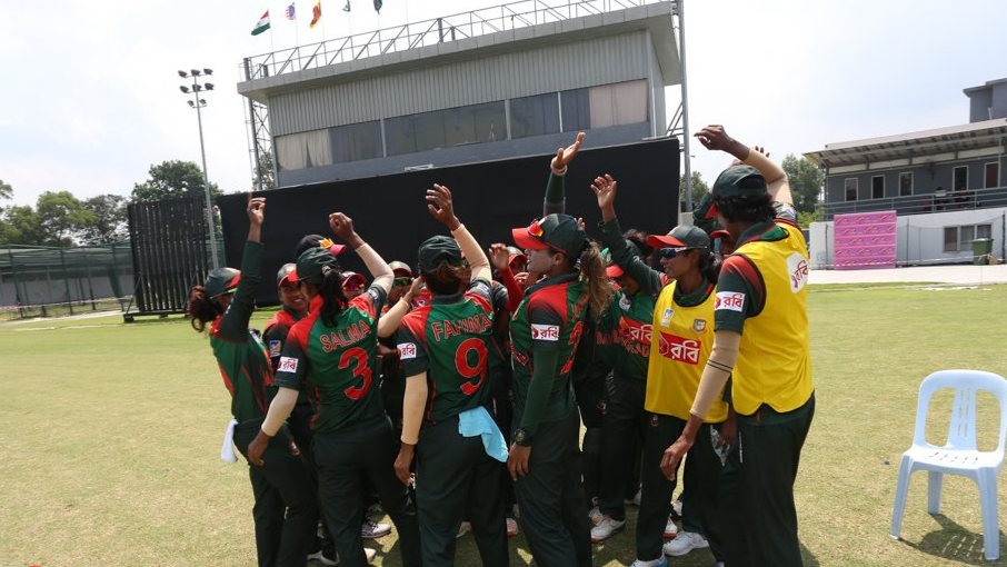 Bangladesh Women create history by defeating India Women in Asia Cup
