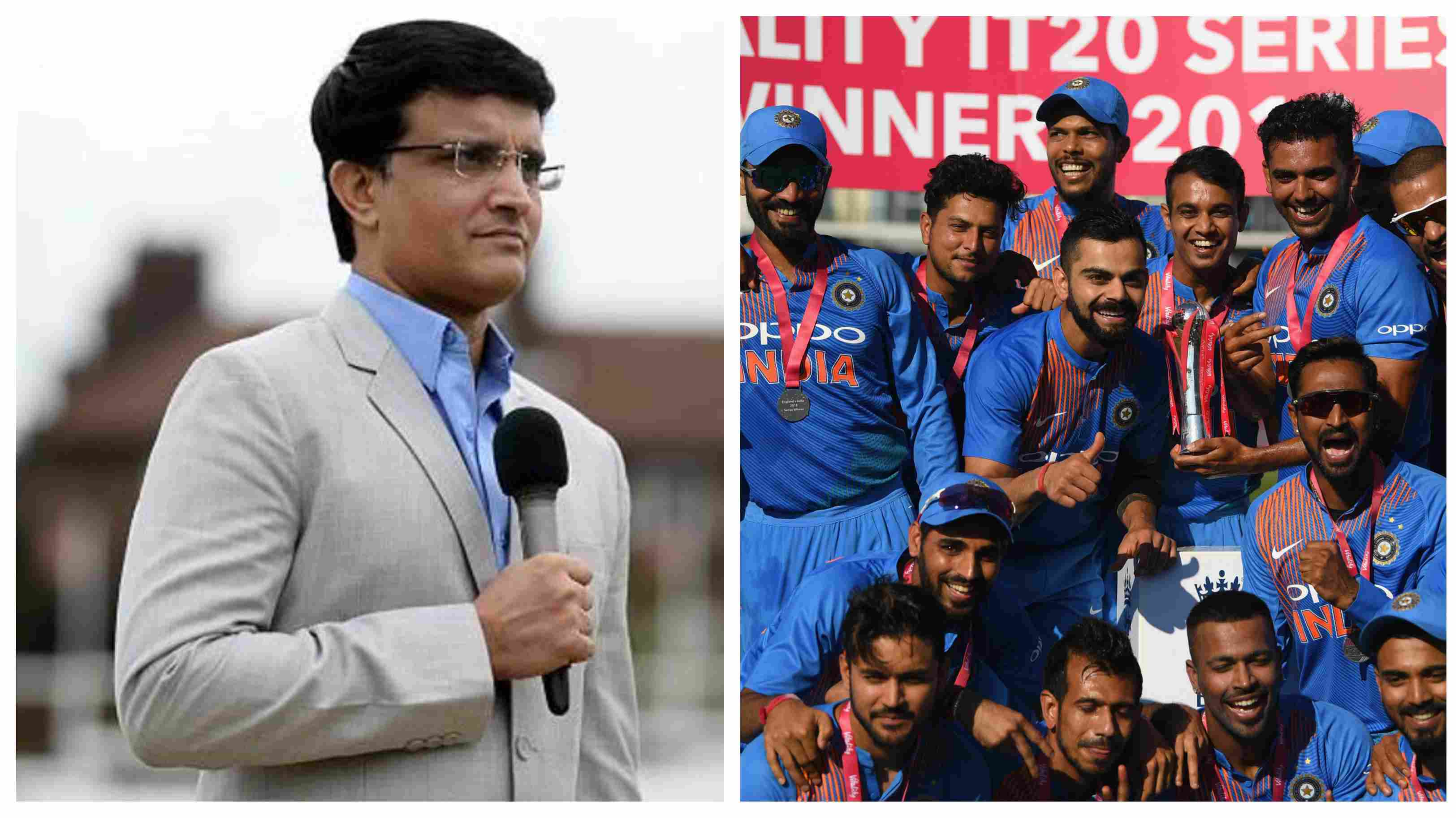 ENG v IND 2018: Sourav Ganguly picks India as favourites for the ODI series against England