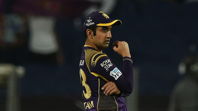 Gautam Gambhir was not retained by KKR | AFP