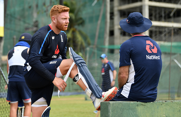 Jonny Bairstow injured himself in a training session while playing football | Getty