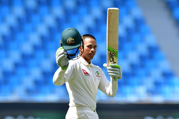 Usman Khawaja played an outstanding knock of 141 to secure an improbable draw for Australia in the first Test | Getty