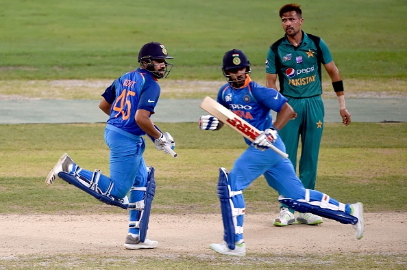 Rohit and Dhawan were in full flow against Pakistan in the Super Four clash | Getty