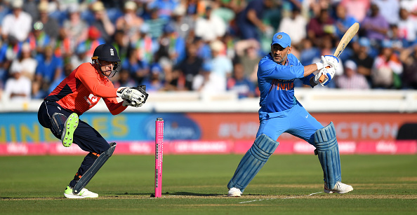 MS Dhoni is playing his 500th international game | Getty