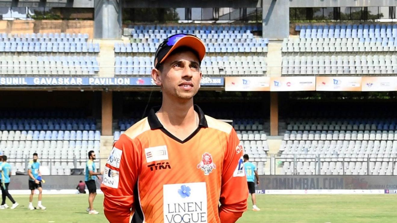 सिद्देश लाड मुंबई T20 लीग में खेलने के लिए हैं उत्साहित