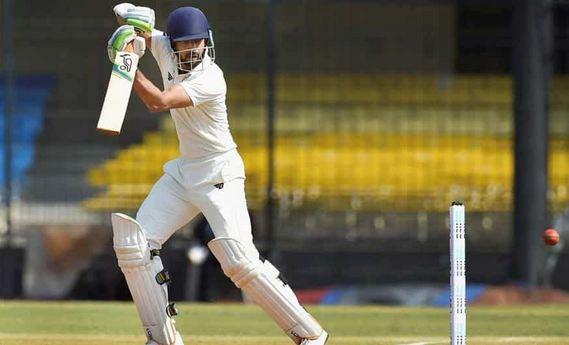 Faiz Fazal hit 75 for Vidarbha