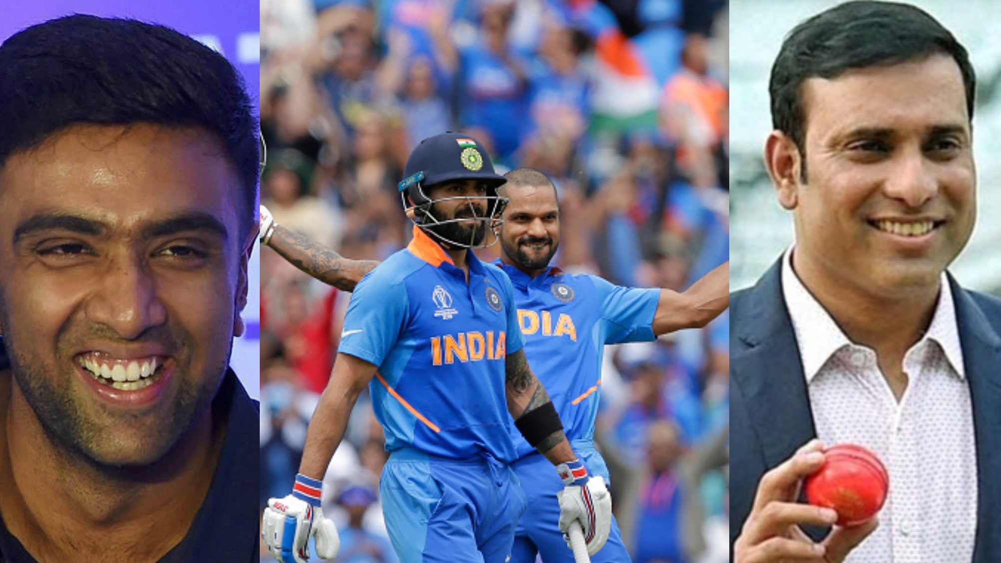 CWC 2019: Cricket fraternity lauds Dhawan century and Kohli, Rohit fifties as India puts 352 on board vs Australia