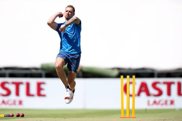 Dale Steyn in net practice (photo - Getty Images)