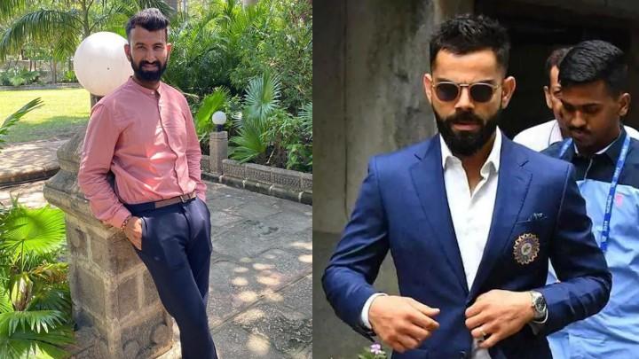Virat Kohli loves Cheteshwar Pujara's new look; Pujara reveals his inspiration