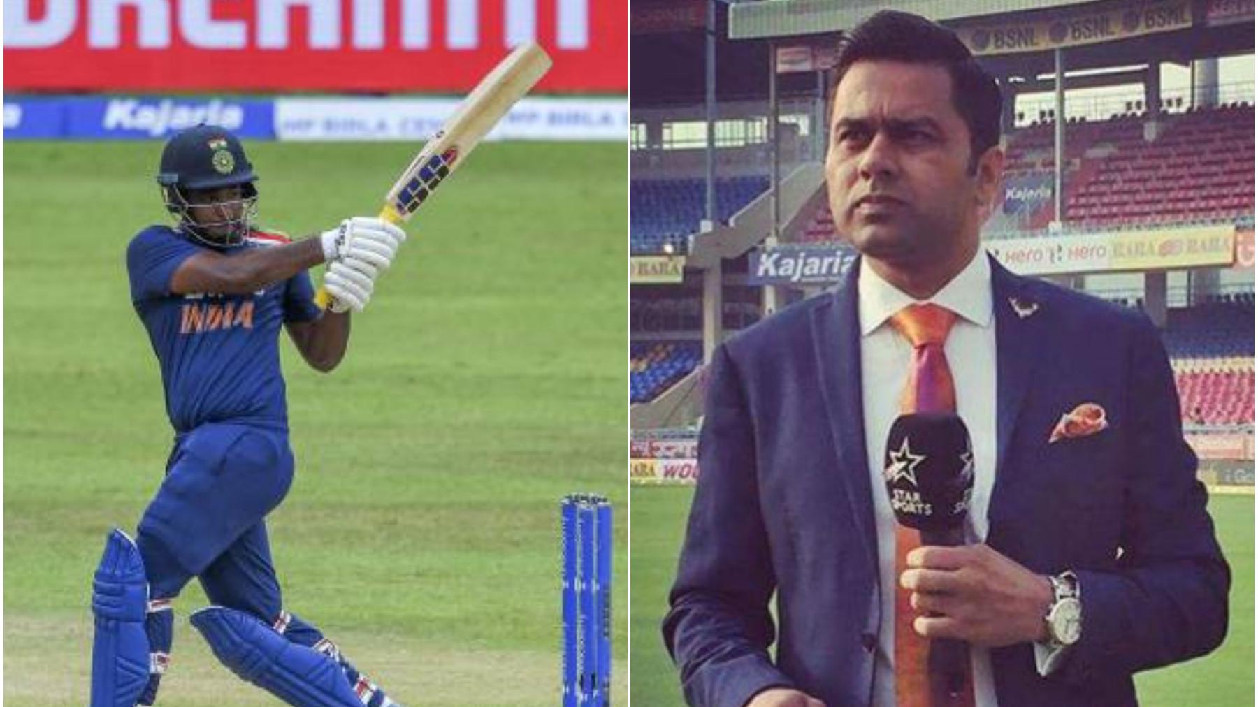 SL v IND 2021: Sanju Samson let a great opportunity slip, he'll regret this, opines Aakash Chopra