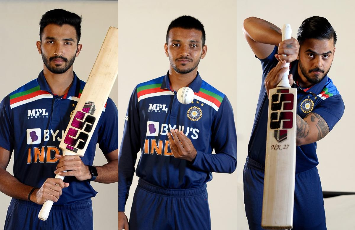 Devdutt Padikkal, Nitish Rana and Chetan Sakariya set for India debut | BCCI Twitter