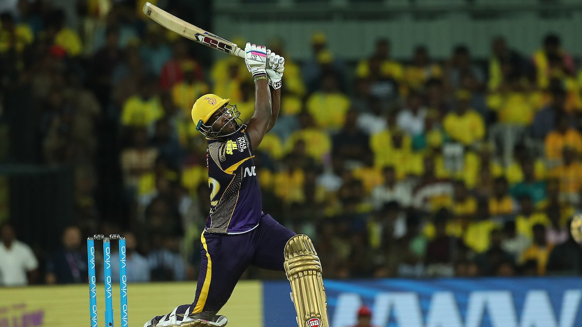 IPL 2018: Watch -KKR co-owner Shah Rukh Khan's reaction over Andre Russell's monstrous six