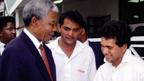 Sachin Tendulkar remembers the great Nelson Mandela on his 100th birth anniversary