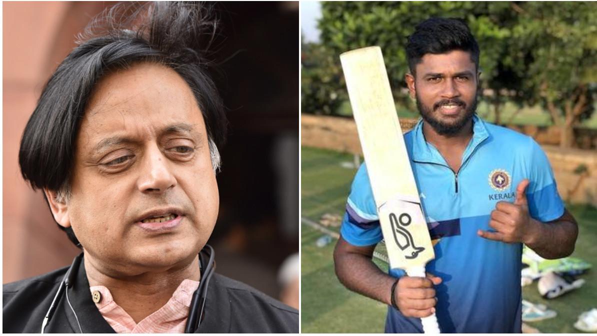 Shashi Tharoor stunned after Kerala removes Sanju Samson from captaincy