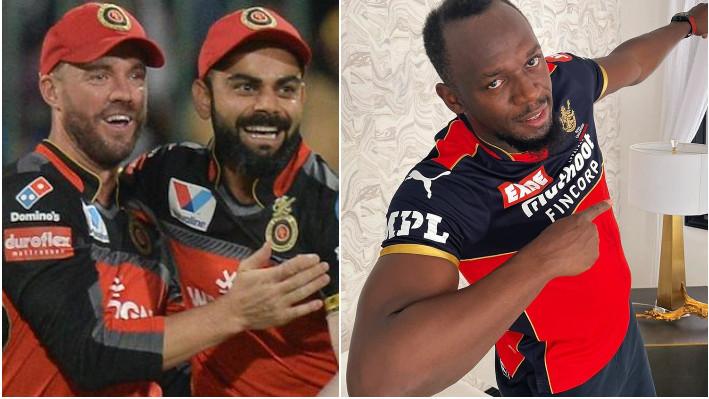 IPL 2021: Virat Kohli and AB de Villiers delighted after Usain Bolt shows support for RCB