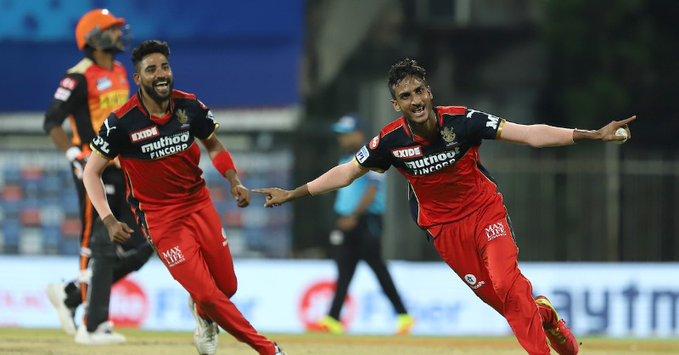Mohammed Siraj, Shahbaz Ahmed   BCCI/IPL