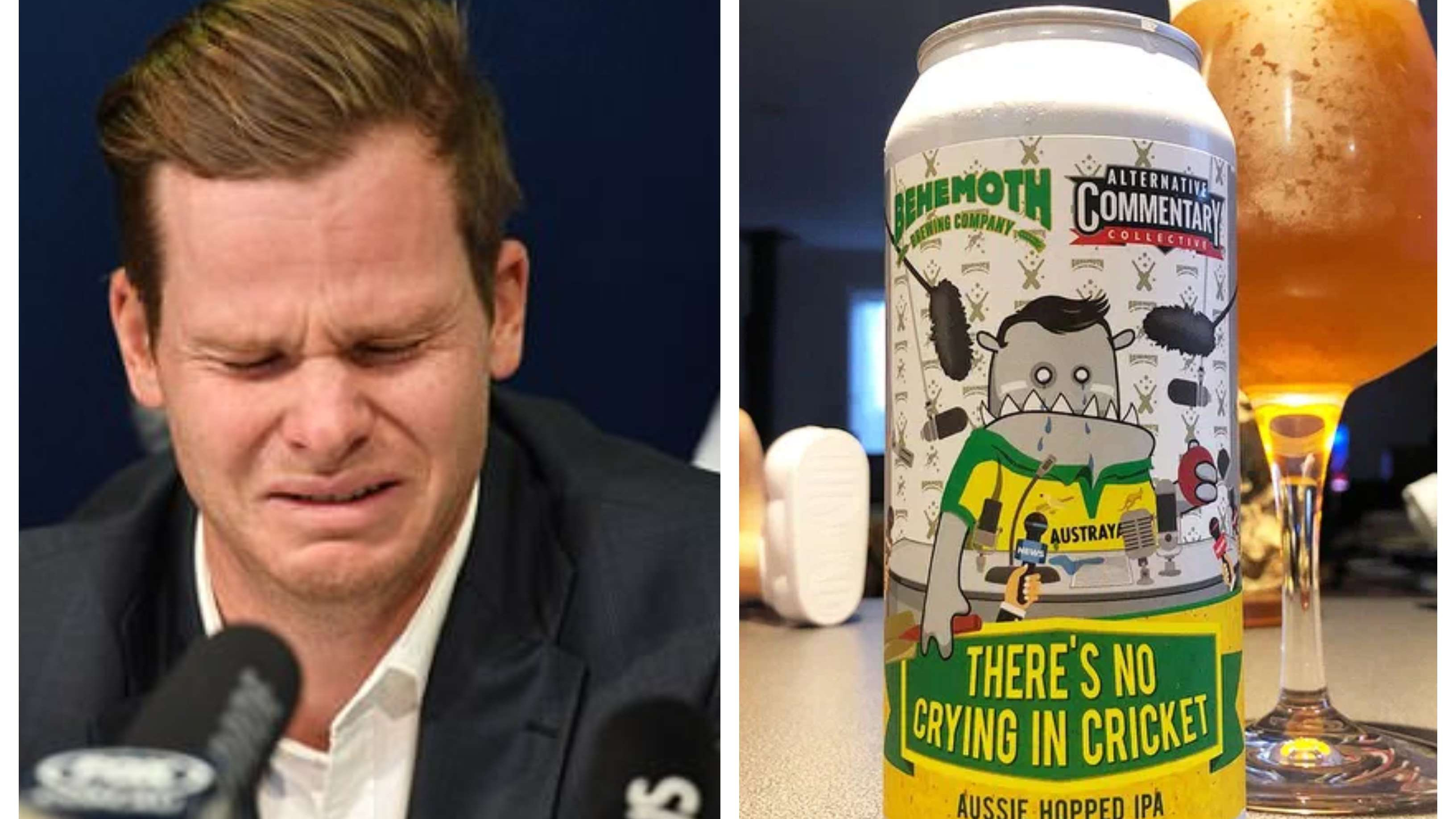 New Zealand-based brewer takes a brutal dig at Steve Smith with reference to sandpaper gate