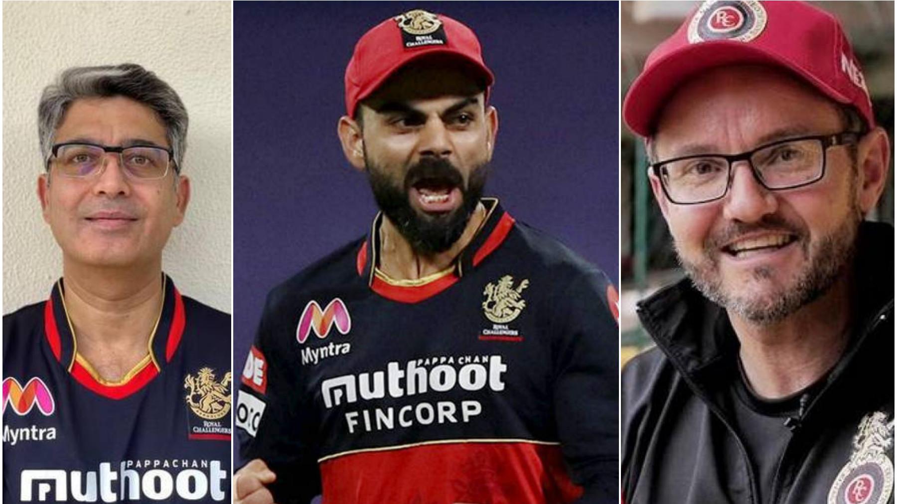 IPL 2021: RCB chairman Prathmesh Mishra and coach Mike Hesson react to Virat Kohli quitting captaincy