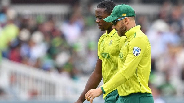 CWC 2019: Faf du Plessis blames IPL workload for Kagiso Rabada's lacklustre show in World Cup