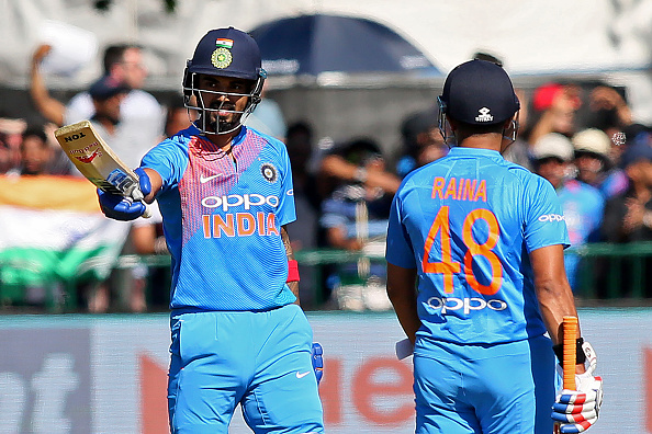 Both KL Rahul and Suresh Raina scored fifties in the second T20I against Ireland |  PAUL FAITH-AFP-Getty Images