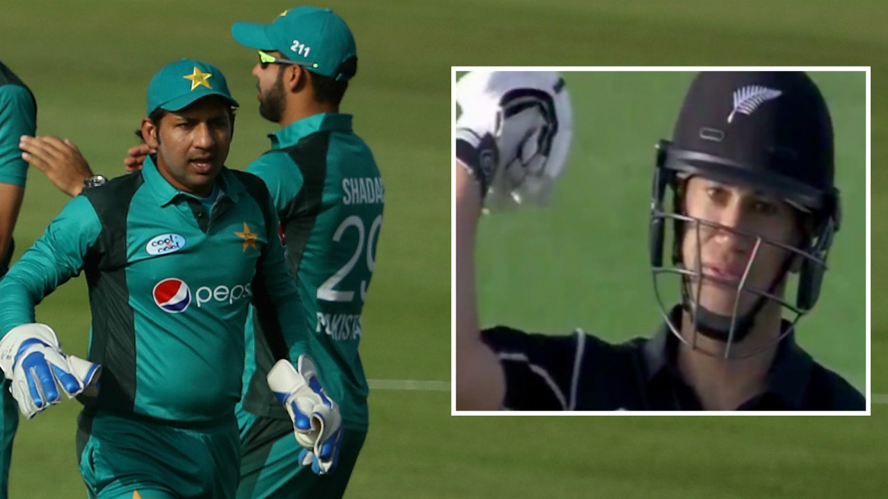 PAK v NZ 2018: Sarfraz Ahmed lashes out at Ross Taylor for his