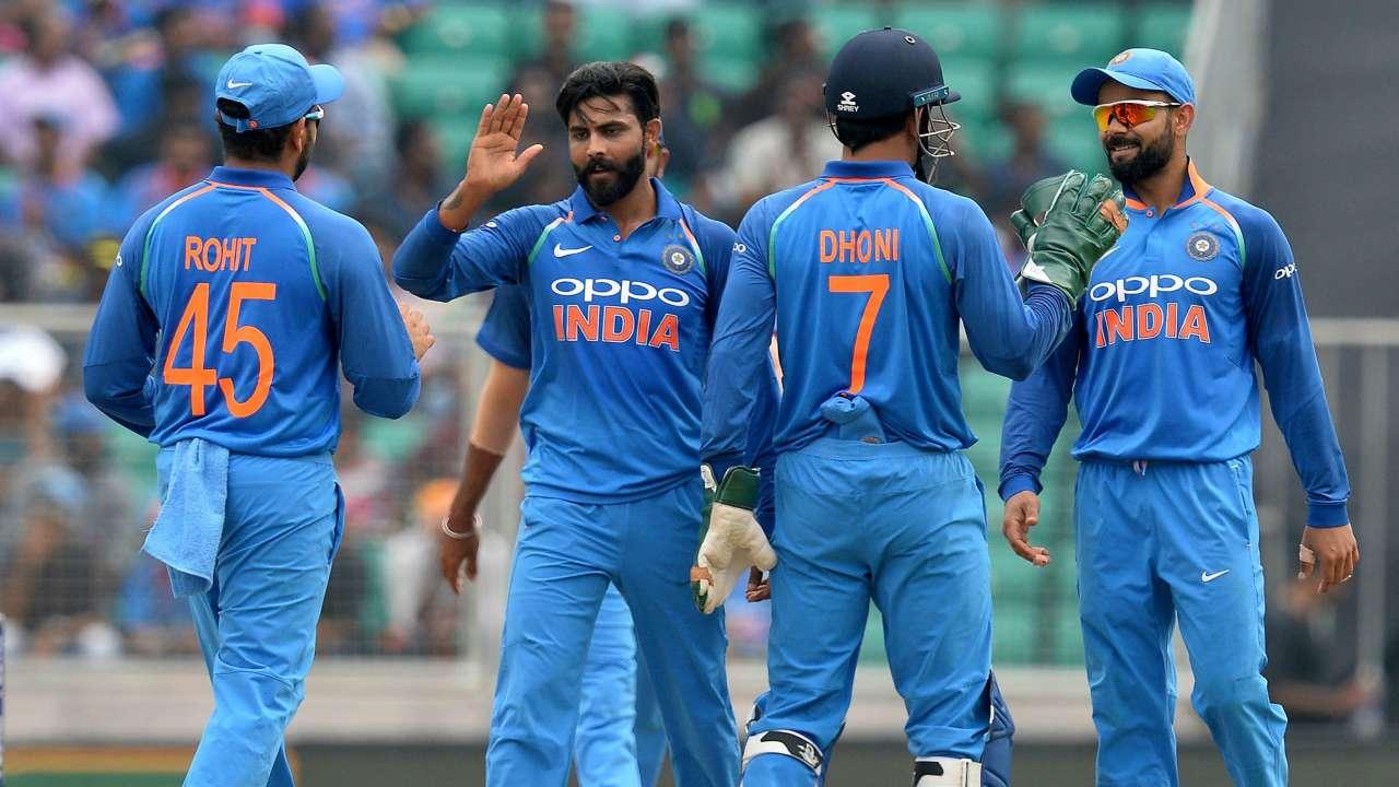 Ravindra Jadeja became the Man of the match for 4/34 | AFP