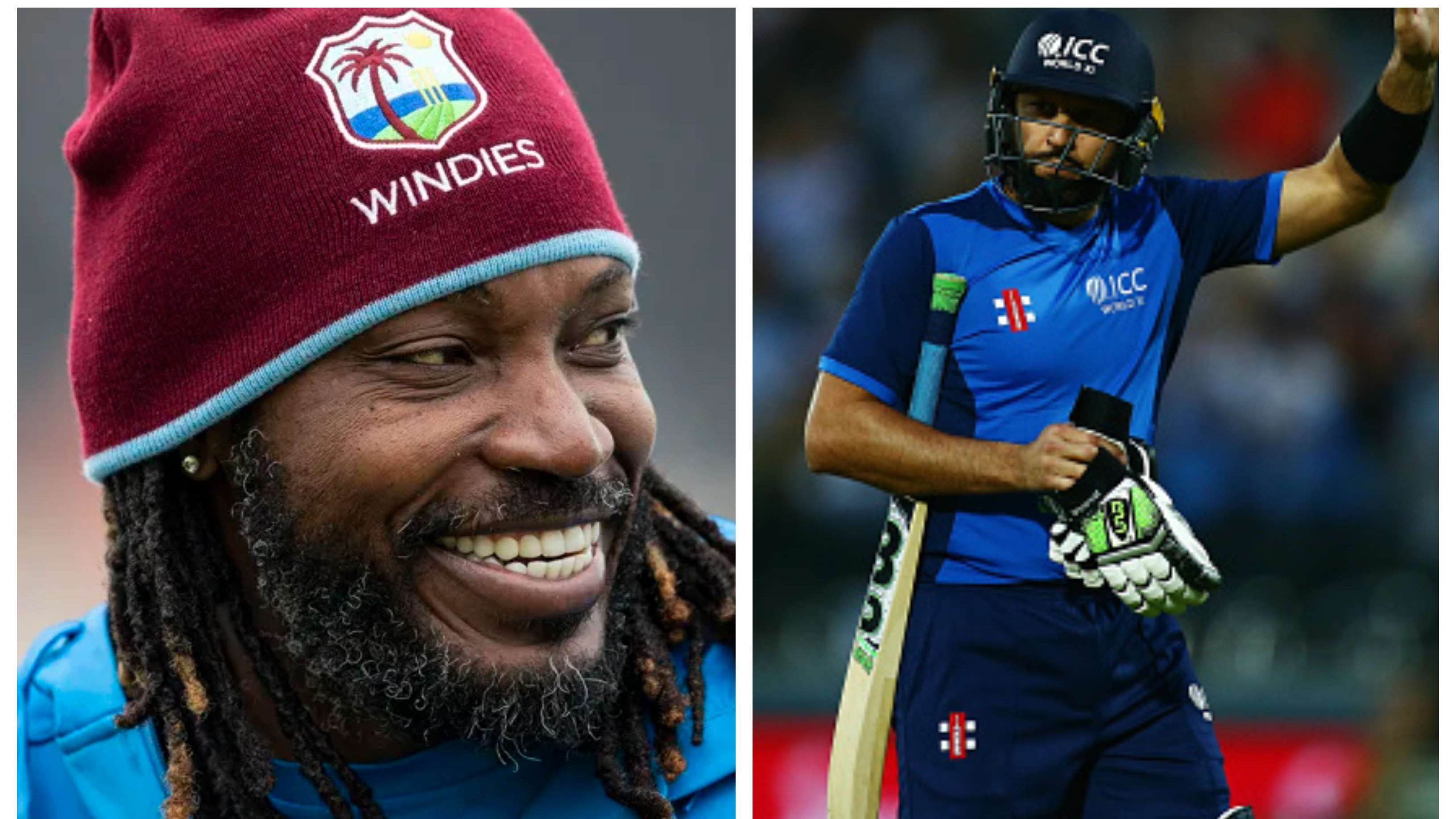 Chris Gayle mocks Shahid Afridi for being an inconsistent power-hitter