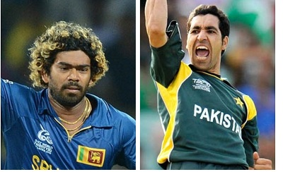 The two very best in T20 - Lasith Malinga and Umar Gul