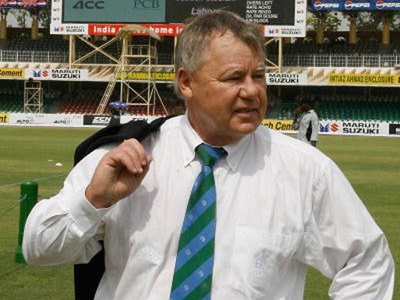 Match Referee Mike Procter who was in middle of the 'Monkeygate' controversy, commented on Sachin's role in his autobiography | Getty