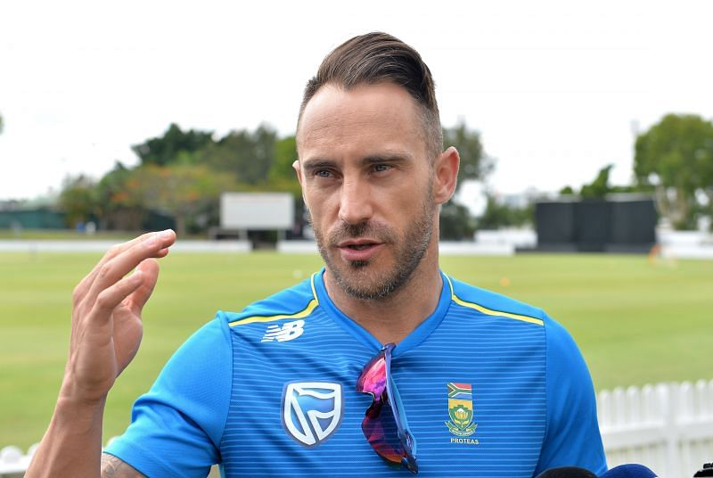 Faf du Plessis has expressed fear over the growing T20 Leagues around the world   AFP