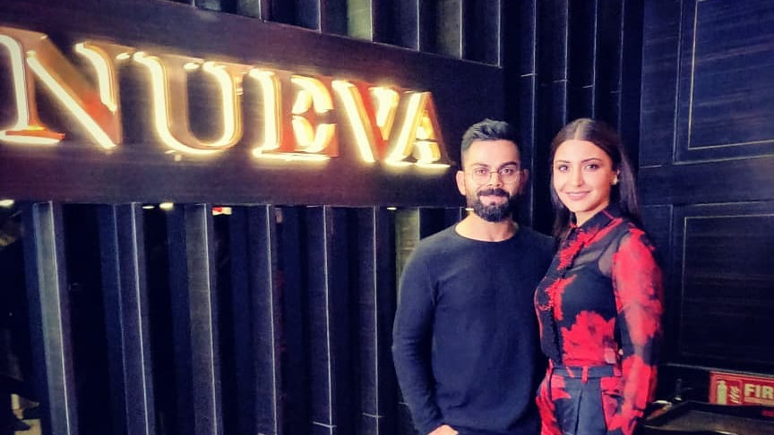 Virat Kohli takes Anushka Sharma on a special Valentine's Day dinner date