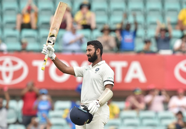 Cheteshwar Pujara became third Indian batsman to score three centuries in a single series against Australia in Australia | Getty