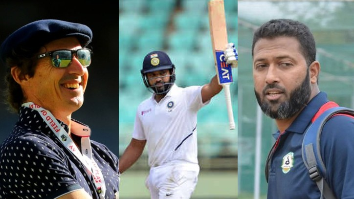 AUS v IND 2020-21: Wasim Jaffer trolls Brad Hogg for being uncertain about Rohit Sharma's Test spot