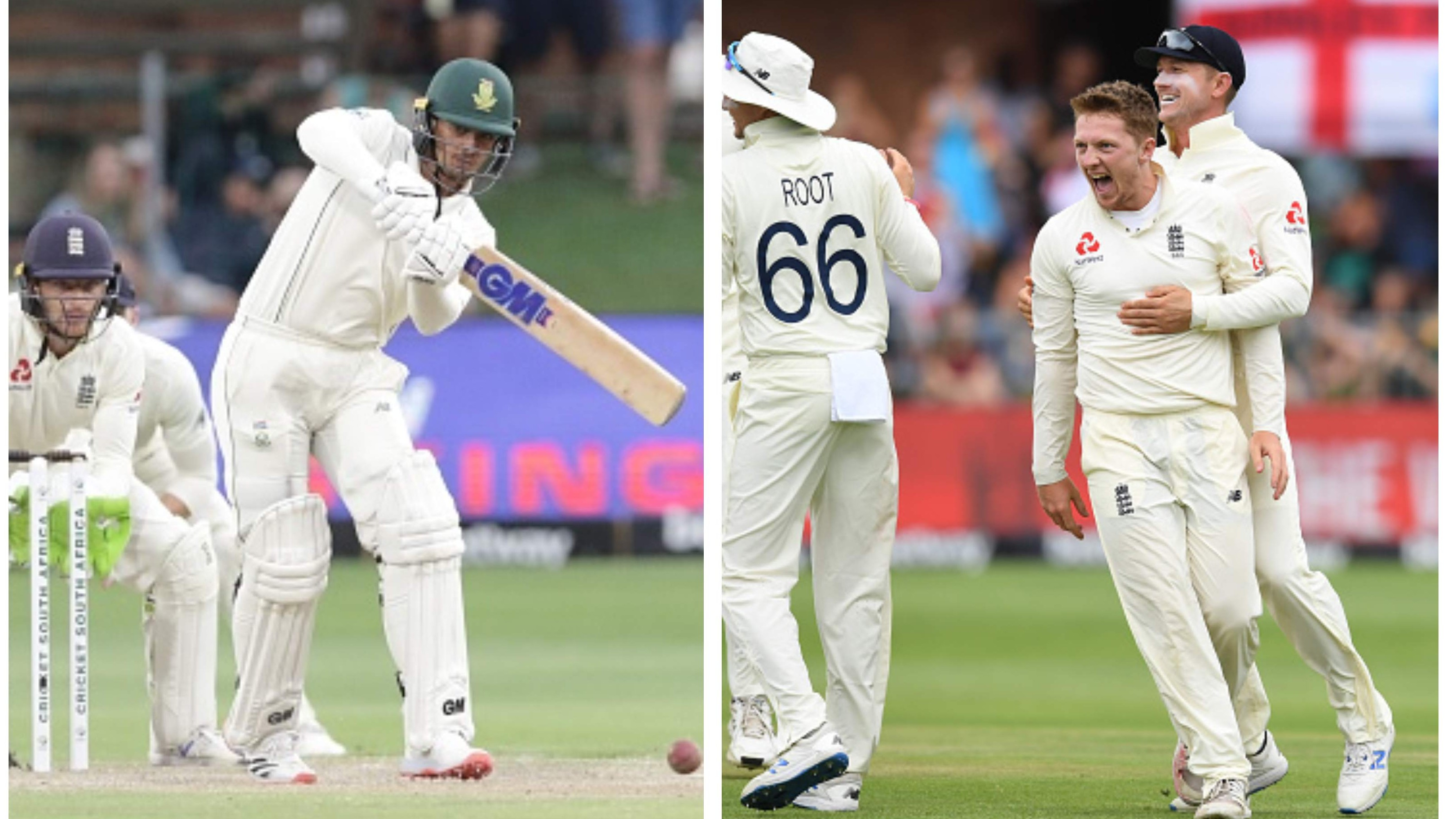 SA v ENG 2020: De Kock's fighting fifty revives South Africa after Dom Bess claims 5-fer for England